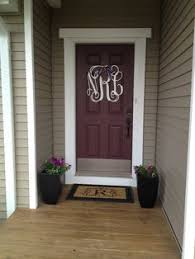 front door monogram10 of the Prettiest Front Doors  Oprah Front doors and Doors