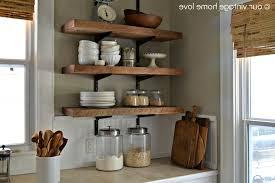Kitchen Wall Racks And Storage Kitchen Kitchen Wall Shelves Regarding Splendid Open Wall