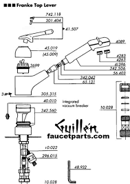 Franke Kitchen Faucets Franke Faucet Parts