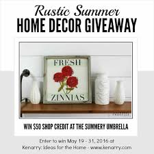 Small Picture Home Decor Giveaway Home Design Ideas