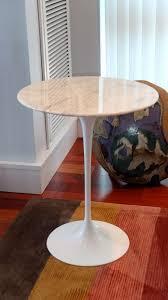 saarinen tulip side table with marble top by knoll at 1stdibs coffee black dscf6