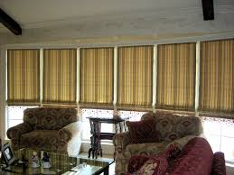 beautiful bamboo blinds for window decoration ideas armchair combined by bamboo blinds mixed of modern