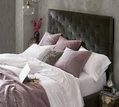 Lorraine Tufted Tall Bed & Headboard