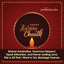 happy karwa chauth wishes status