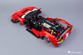Obviously, the possibilities are limited by the smaller the suspension height has always been one of the weakest features of lego technic cars. Lego Technic 42125 Ferrari 488 Gte Af Corse 51 Review The Brothers Brick The Brothers Brick