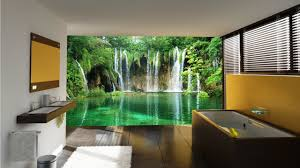 Beautiful Wall Mural Designs for Your Bathroom - YouTube