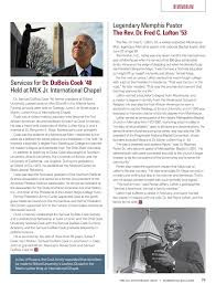 Morehouse Magazine Special Anniversary Issue by Morehouse College - issuu