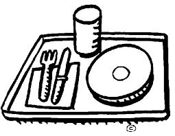 dinner table clipart black and white. kids dinner table clipart black and white