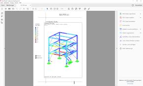 Visuelle Modellkontrolle Durch Druck In 3d Pdf Dlubal Software