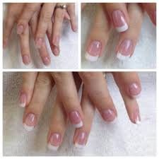 signature nail system french manicure