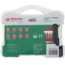 Купить <b>Набор бит Hammer</b> Flex DR No19 202-919 по супер ...