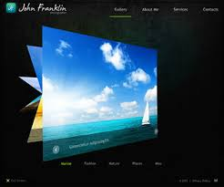 Flash Website Templates Mesmerizing Best Flash Photo Gallery Website Templates Entheos