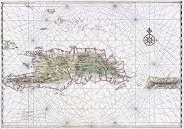Nautical Chart Of Hispaniola And Puerto Rico Johannes