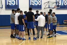 Kentucky Basketball practice report - A ...