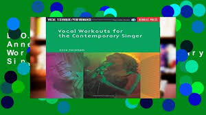 d o w n l o a d p d f anne peckham vocal workouts for the contemporary singer vce book cd