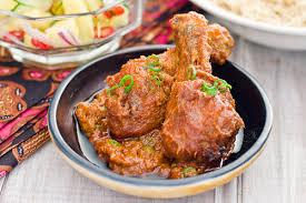 Tumis sampai harum bawang putih, bawang merah, dan pasta kari. Ayam Masak Merah Chicken In Spicy Tomato Sauce Rasa Malaysia