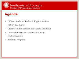 office agenda agenda office of academic student support services cps writing