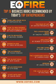 entrepreneur on fire top business books recommended by  top 15 business books recommended by today s top entrepreneurs
