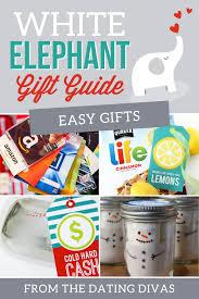 easy good white elephant gifts