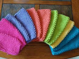 Knit Dishcloth Pattern Impressive 48 Knit Dishcloth Patterns For Beginners