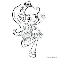 Shopkins Colouring Pages Season 5 Printable Coloring Pages Printable