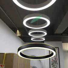 Circular Light Fitting China Size W60xh60mm Aluminum Body Pendant Led Ring Light