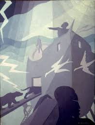 Learning Curve on the Ecliptic: Arty Farty Friday ~ Aaron Douglas | African  american art, African american artist, Art