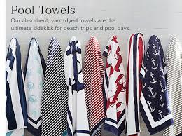 Beach towels Rolled Pool Towels Pottery Barn Beach Towels Large Beach Towels Pool Towels Pottery Barn