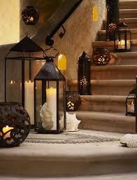 pottery barn outdoor lighting. pottery barn darien filigree and solaris scroll lanterns outdoor lighting