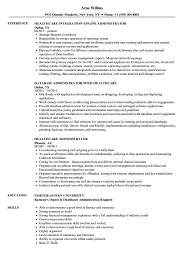 Healthcare Administration Resume Samples Resume Examples Healthcare Fungramco 73