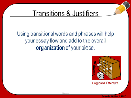 transitions justifiers ppt video online transitions justifiers
