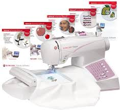 Singer Futura Ses1000 Embroidery Sewing Machine