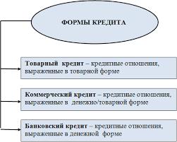 Московский финансово промышленный университет Синергия  Вид кредита это более детальная характеристика основных форм кредита за счет выделения дополнительных признаков