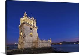 Torre de Belem, in Pedroucos, Belem, Cruz Quebrada, Lisbon ...