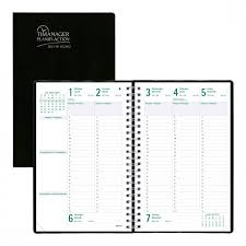 Monthly Weekly Daily Planner Timanager Academic Weekly Planner 2019 2020