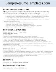 Surgical Nurse Resume Palliative Care Head Nurse Resume Nursing Resume Rn
