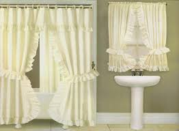 the shower curtains with valance curtains wall decor regarding shower curtains with valance and tiebacks ideas