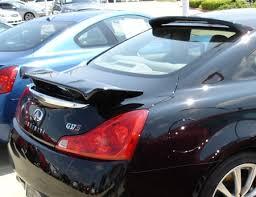 infiniti g37 2015. home u003e infiniti g37 q40 2008 2door coupe rear window custom style spoiler 20082015 2015