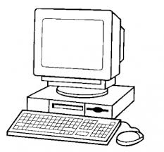 Computer Clip Art 80 Computer Clipart Black And White Clipartlook