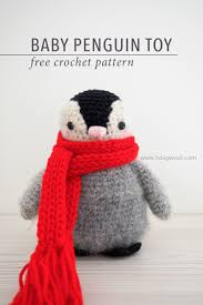 Free Crochet Penguin Pattern