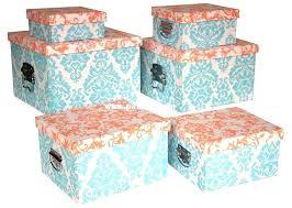 Decorative Fabric Storage Boxes decorative storage boxes with lids holidaysaleclub 56