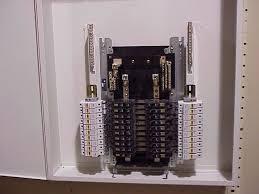 vti fdp fused distribution panel internal view of 20 circuit main lug only panel