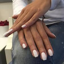 Dlouhé Bílé Akrylové Nehty Na Rukou Mojenehtíkycz