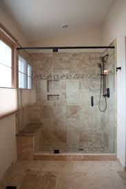tile+showers+with+bench+and+shelves | ... tile