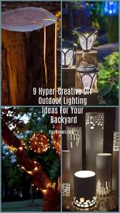 Outdoor Wedding Lighting Without Electricity Outdoor Designs
