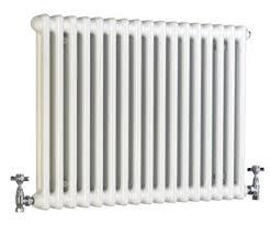 Acova 2 Column Horizontal Radiator, White, 7640112390021 ; 7640112390014 ;  7640112390007 ; 7640112390045 ; 7640112390038
