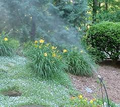 garden mister. Fine Garden Leaf Mister On Plant Stake Offers Easy Mobility Throughout Garden L