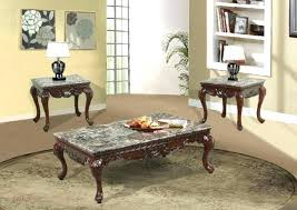 coffee table with marble top end coffee table with granite top set cherry finish veneer piece