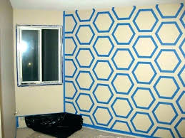 frog tape design wall paint ideas with hexagon art painters painting designs full size