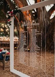 Modern Acrylic Botanical Garden Wedding With Floating